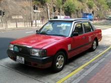 HK_Toyota_Comfort_Red_Taxi